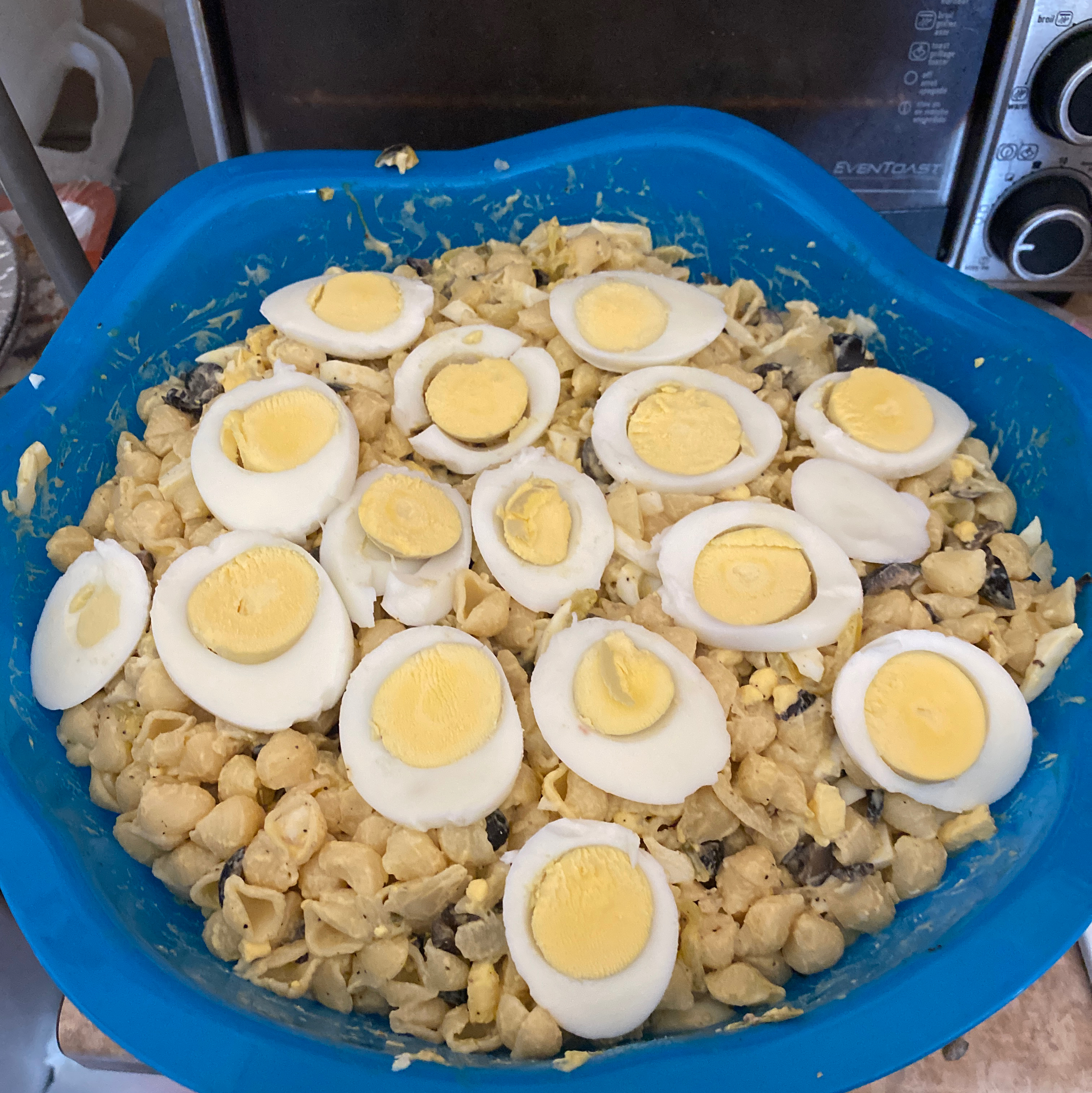 Macaroni Salad for a Crowd Crissy Soares