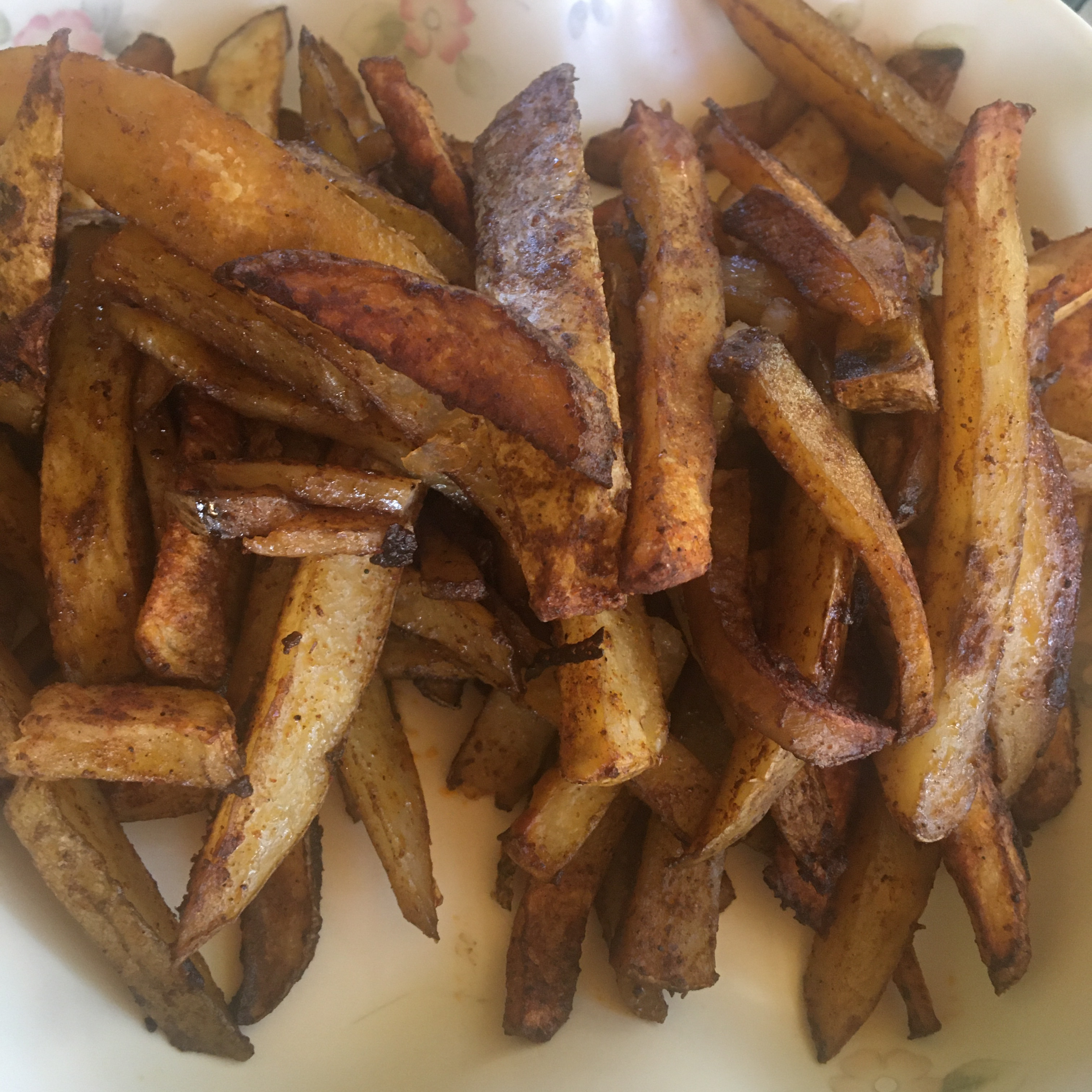 Cajun Baked French Fries