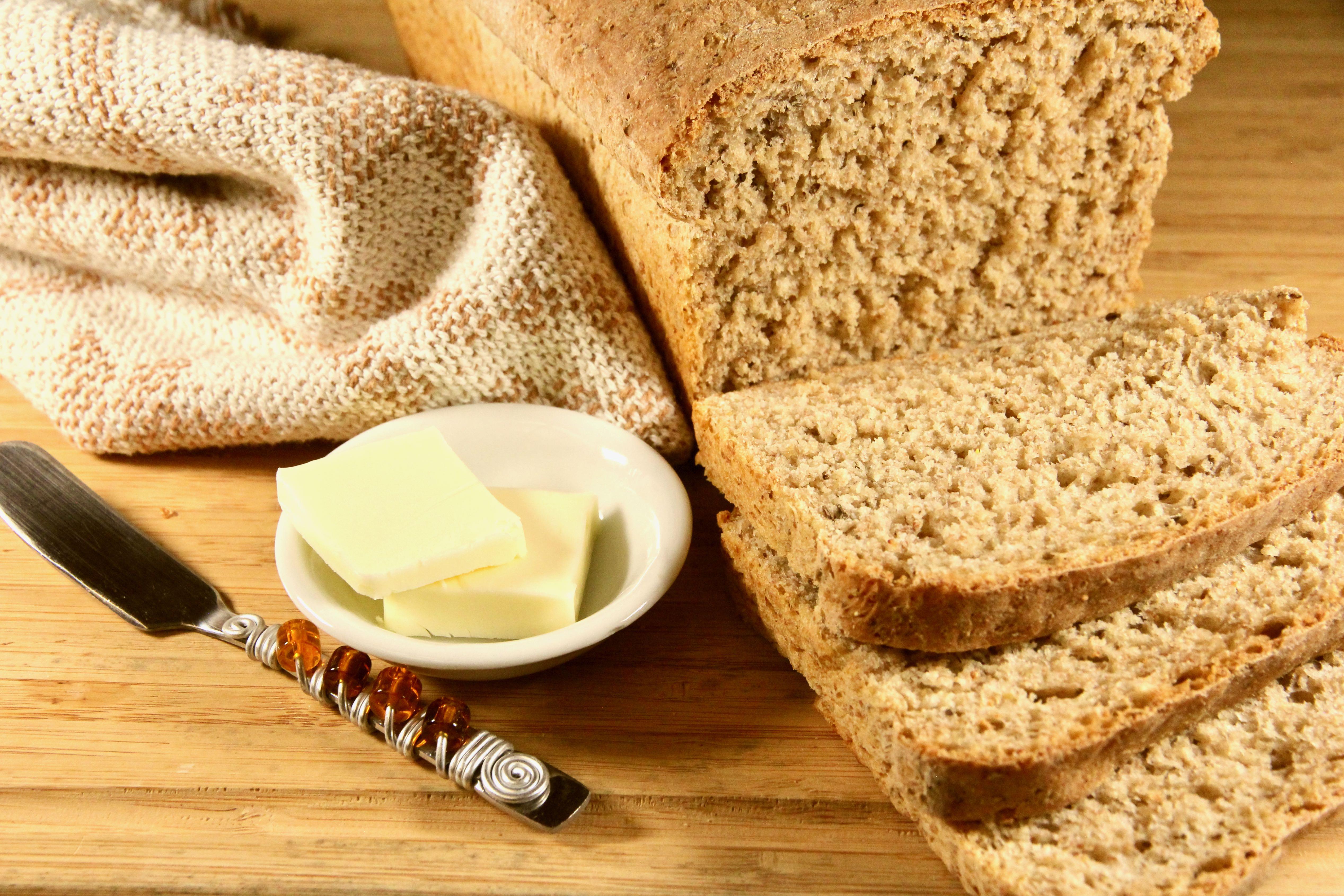 Batter Rye Bread