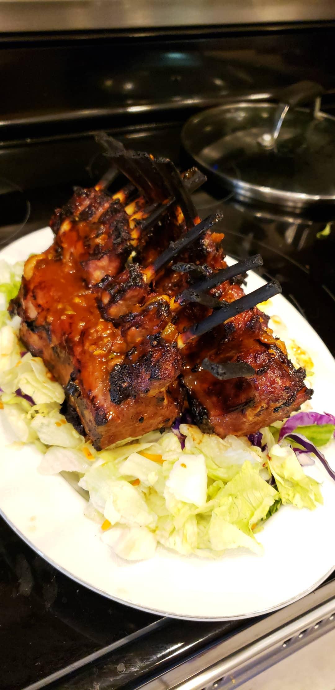 Korean Barbecued Rack of Lamb Panat Do