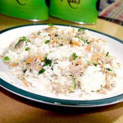 Romaine Rice Tuna Salad Rabea