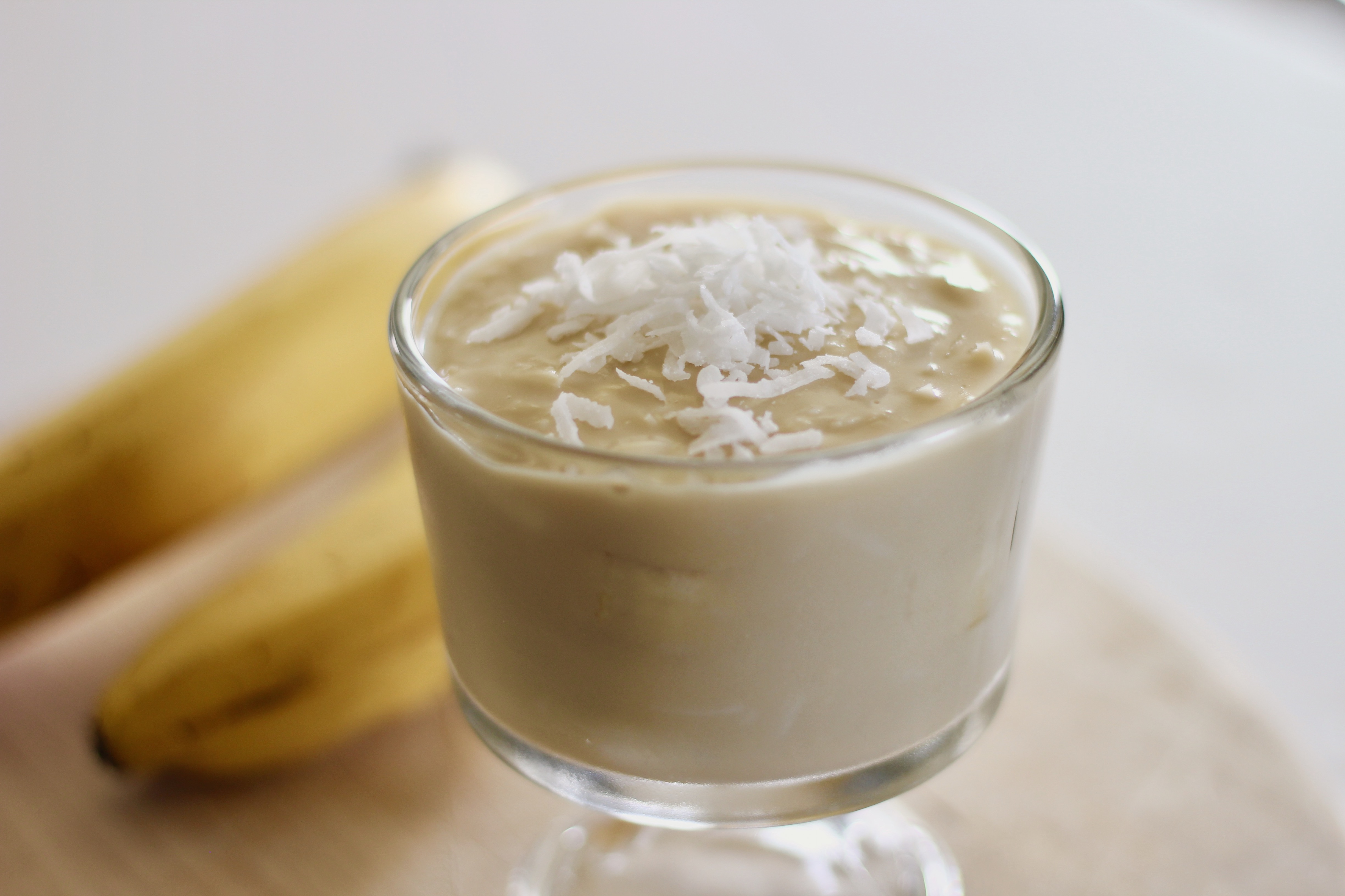 Banana Coconut Pudding or Pie Filling