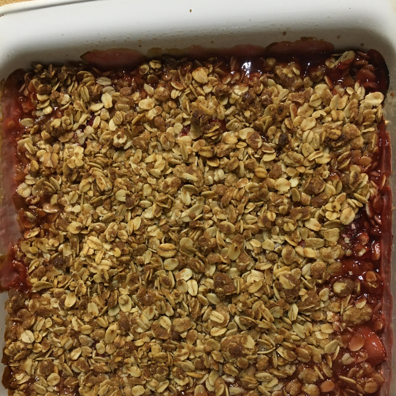 Royal Rhubarb Crisp porter