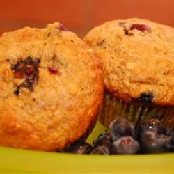 Health Nut Blueberry Muffins Sheri O.