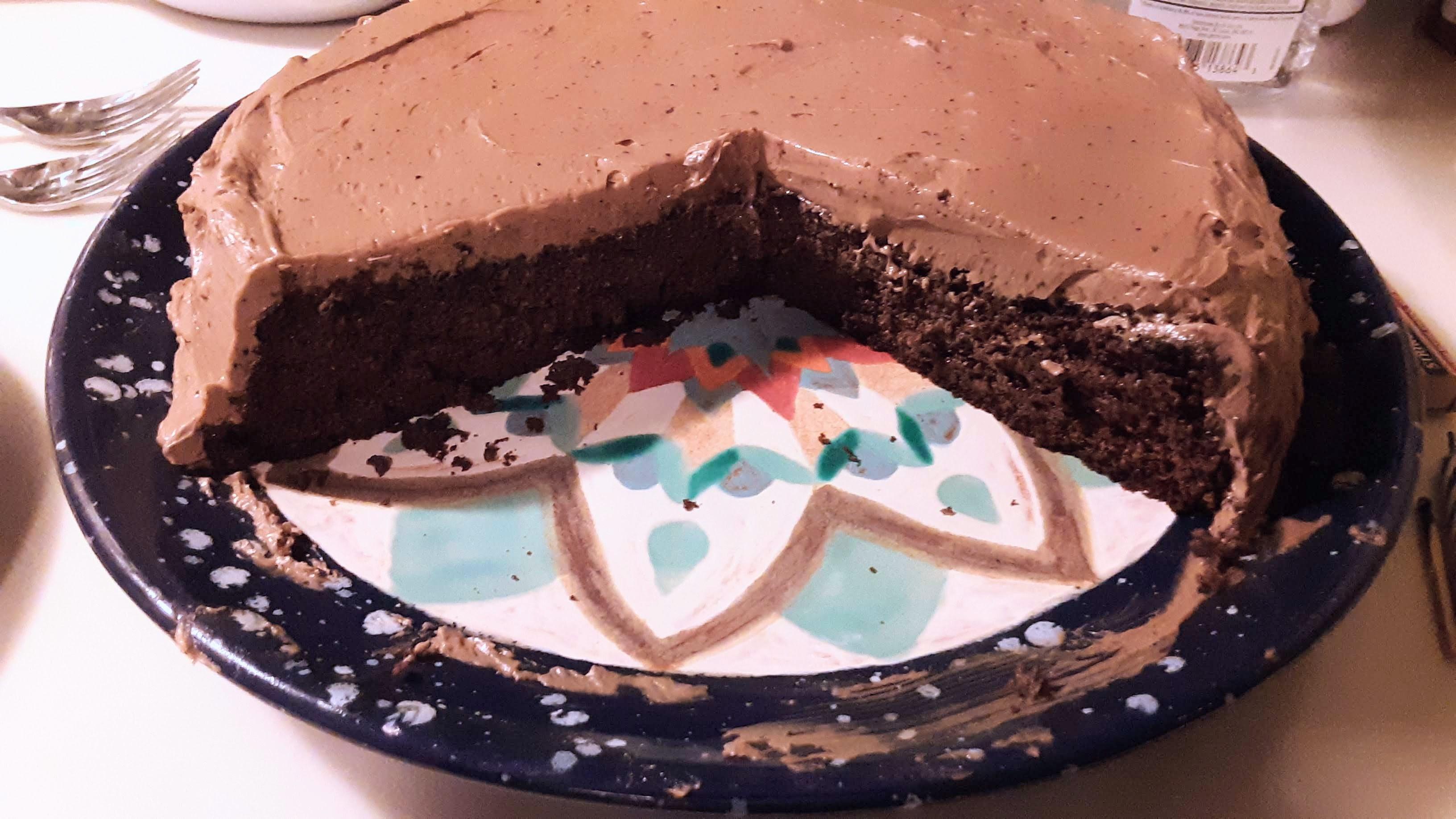 Keto Chocolate Cake David Douthett