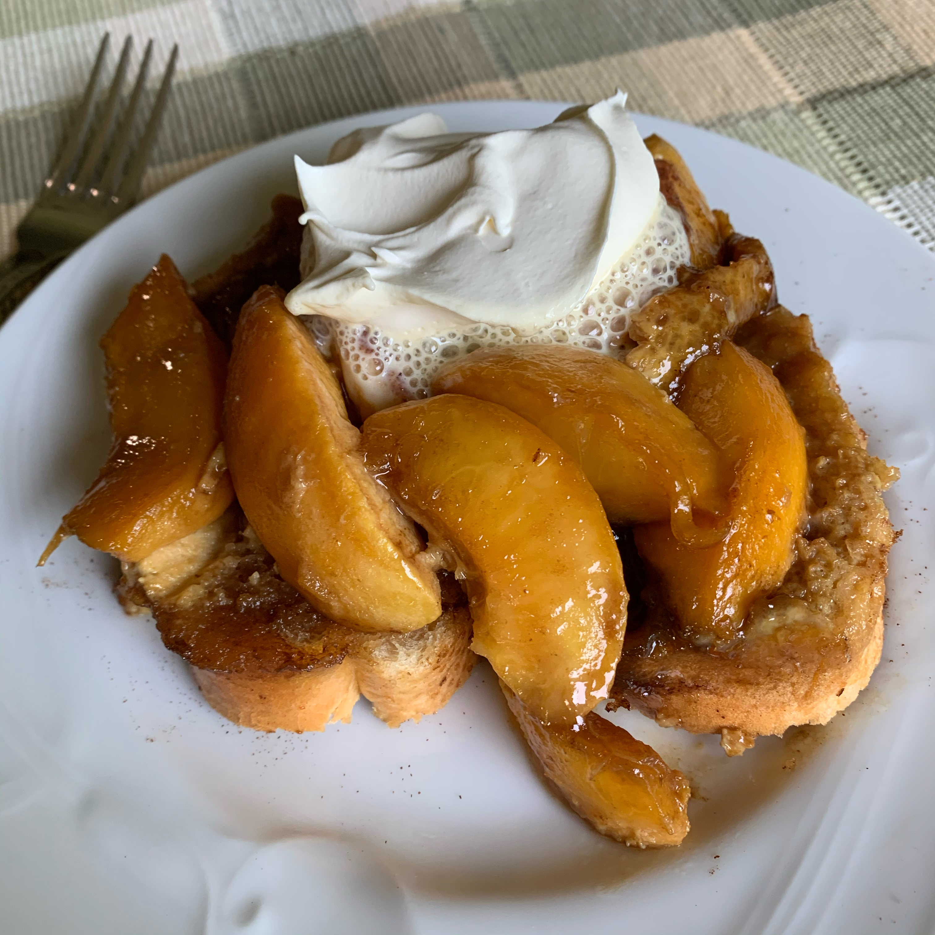 Grandma's Peach French Toast Paula