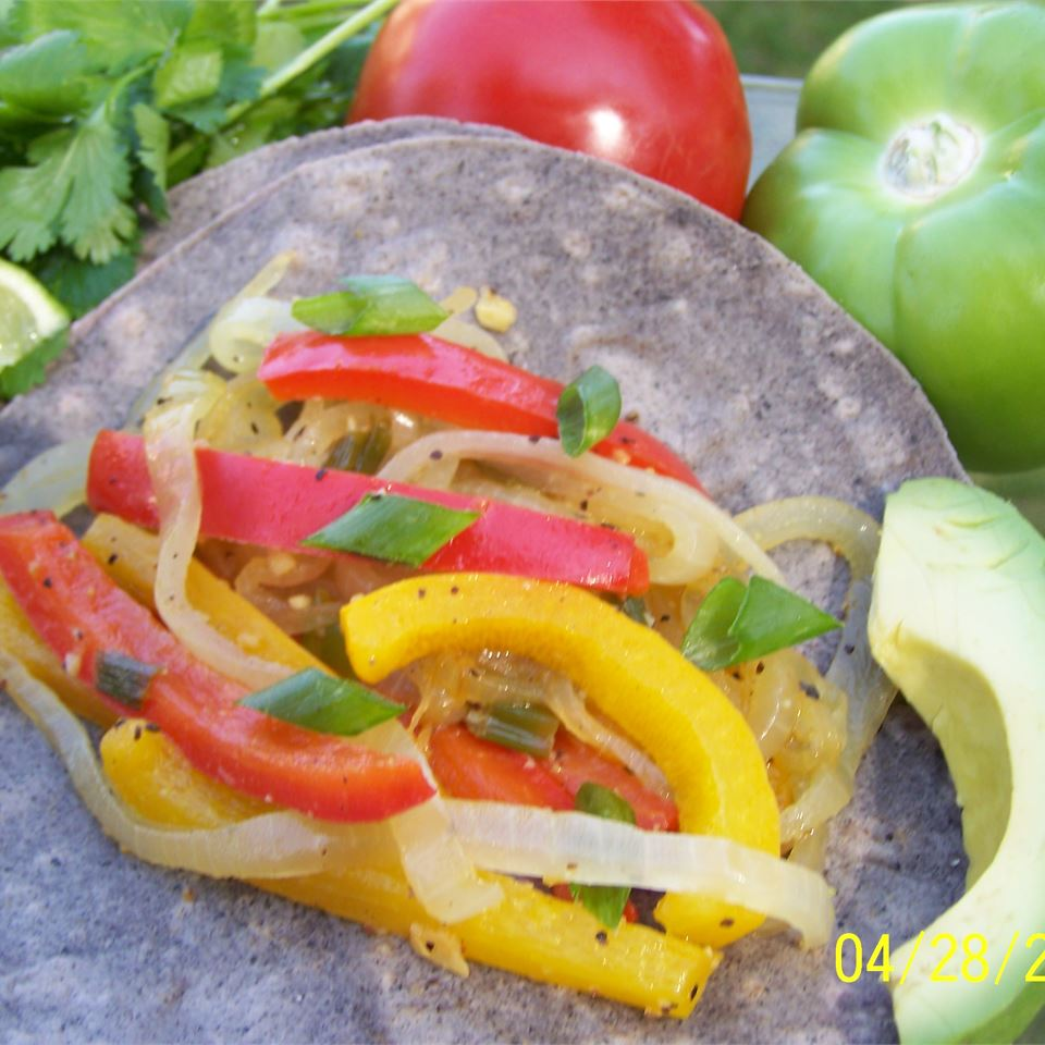 Veggie Fajitas Stirring up Trouble