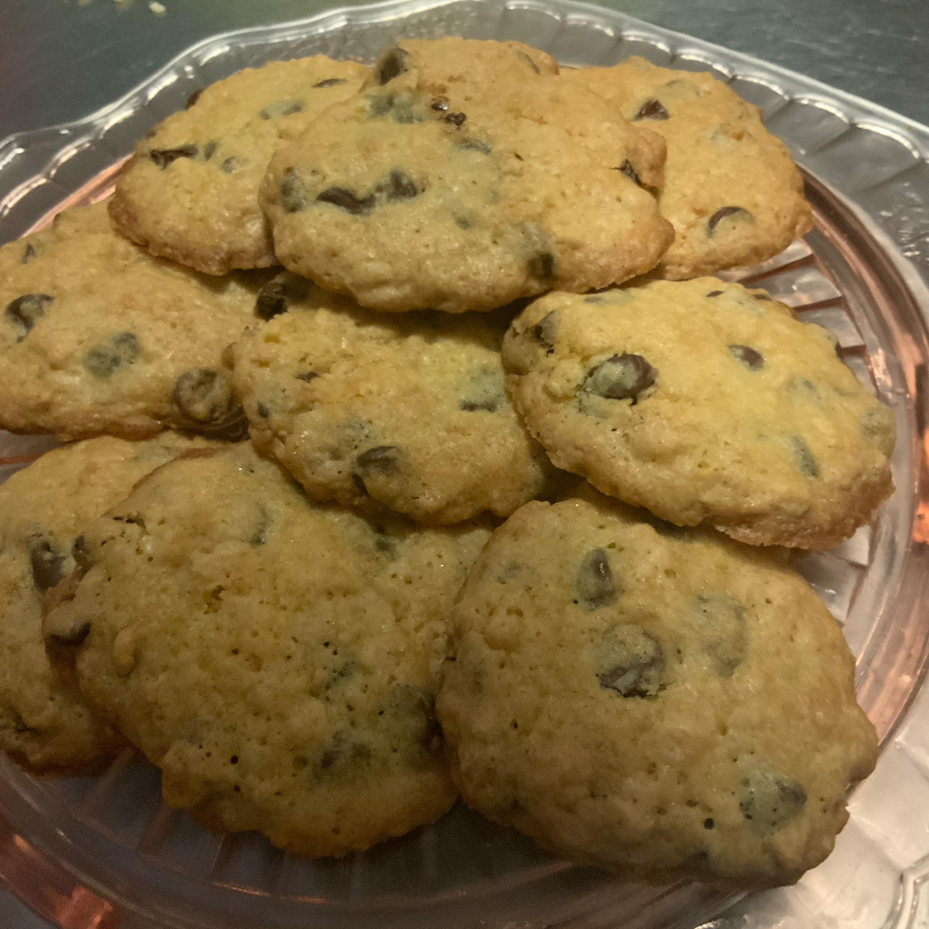 Crisp Rice Chocolate Chip Cookies