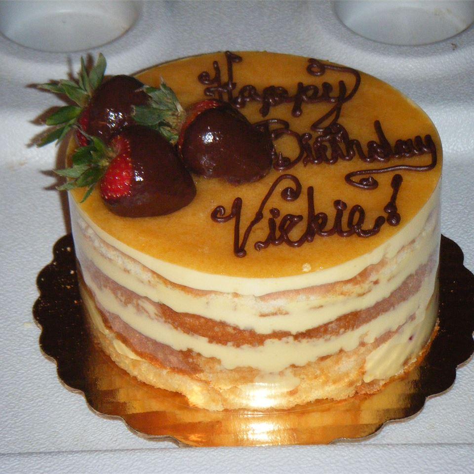Apricot Sponge Cake Norae