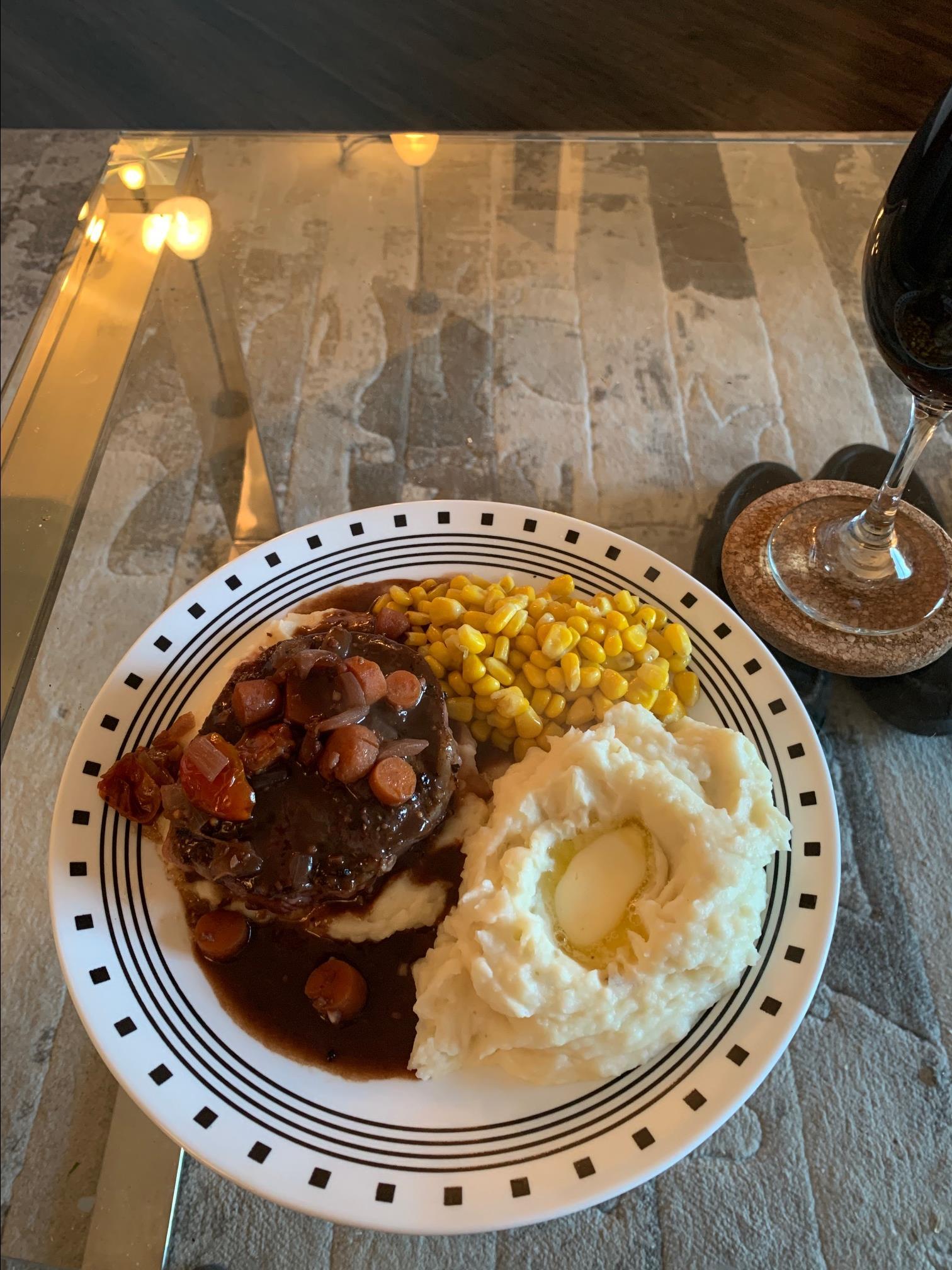 Red Wine Reduction Steak Sauce Israel Anderson