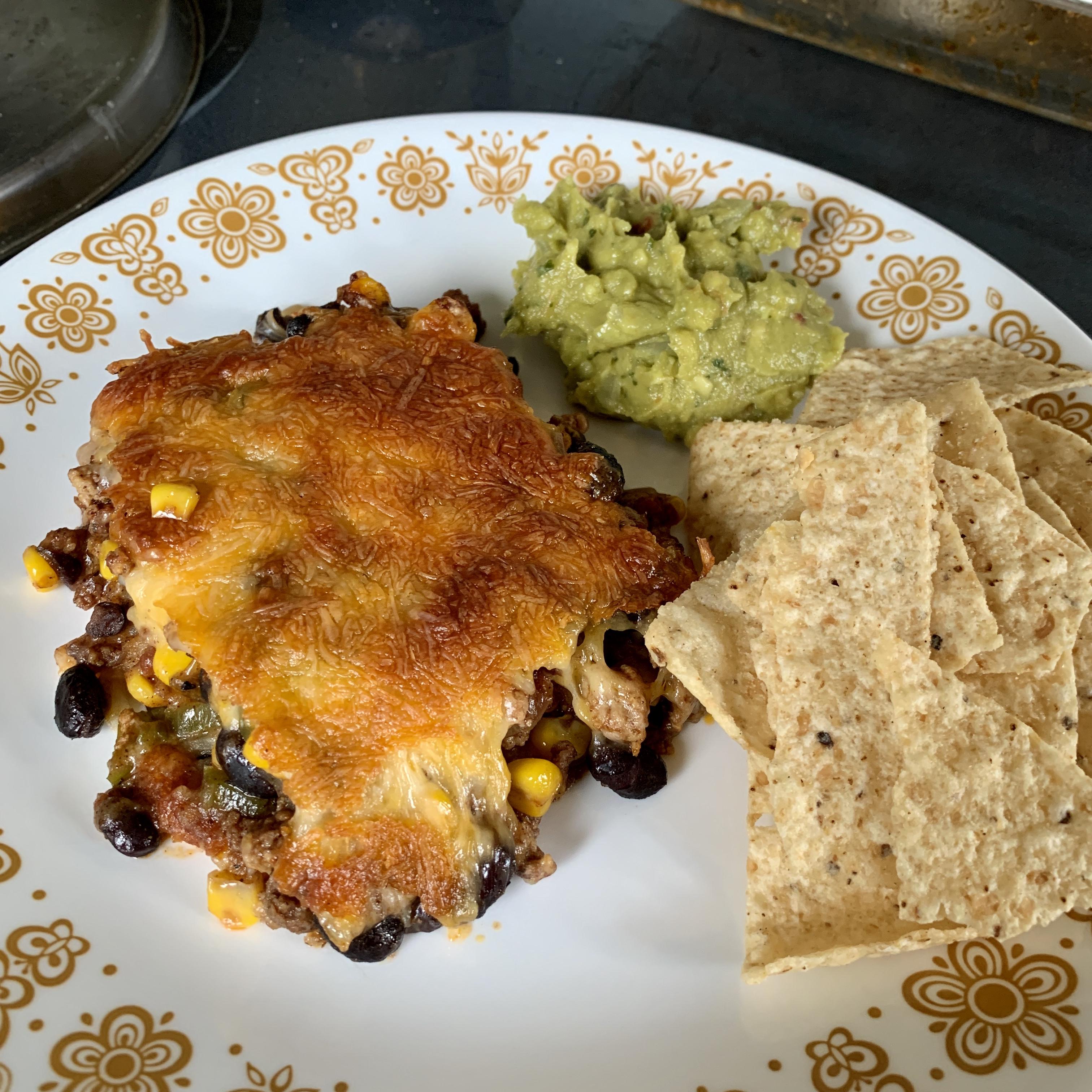 Mexican Chorizo and Potato Casserole zeichner42