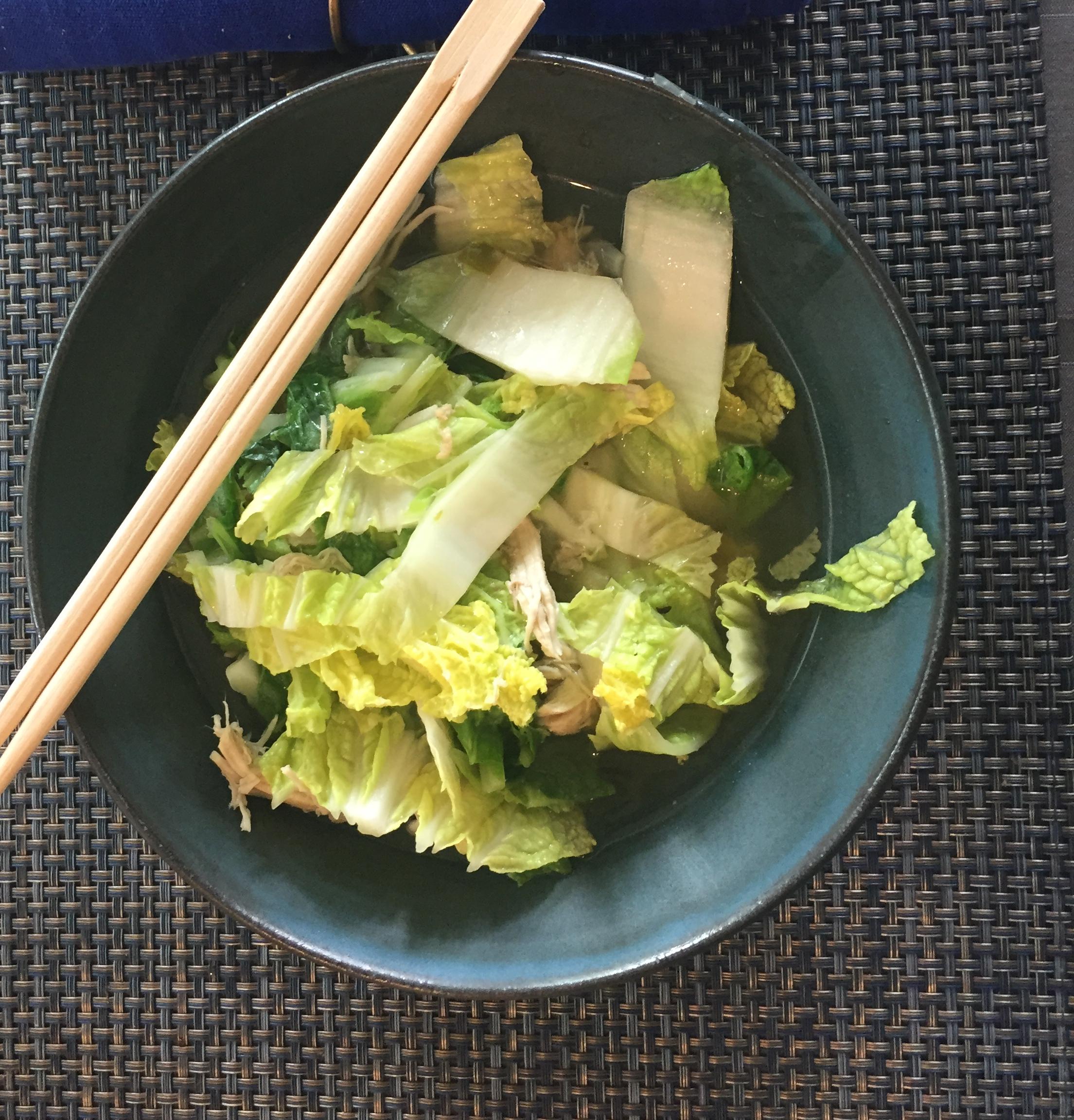 Chicken Bok Choy Soup Catherine OBrien
