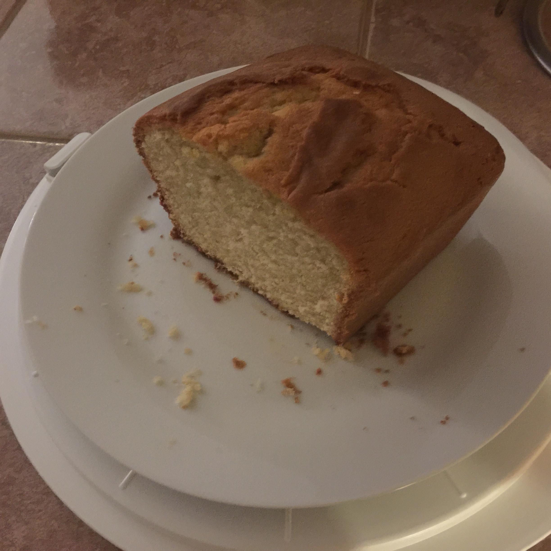 Pound Cake I wterrell