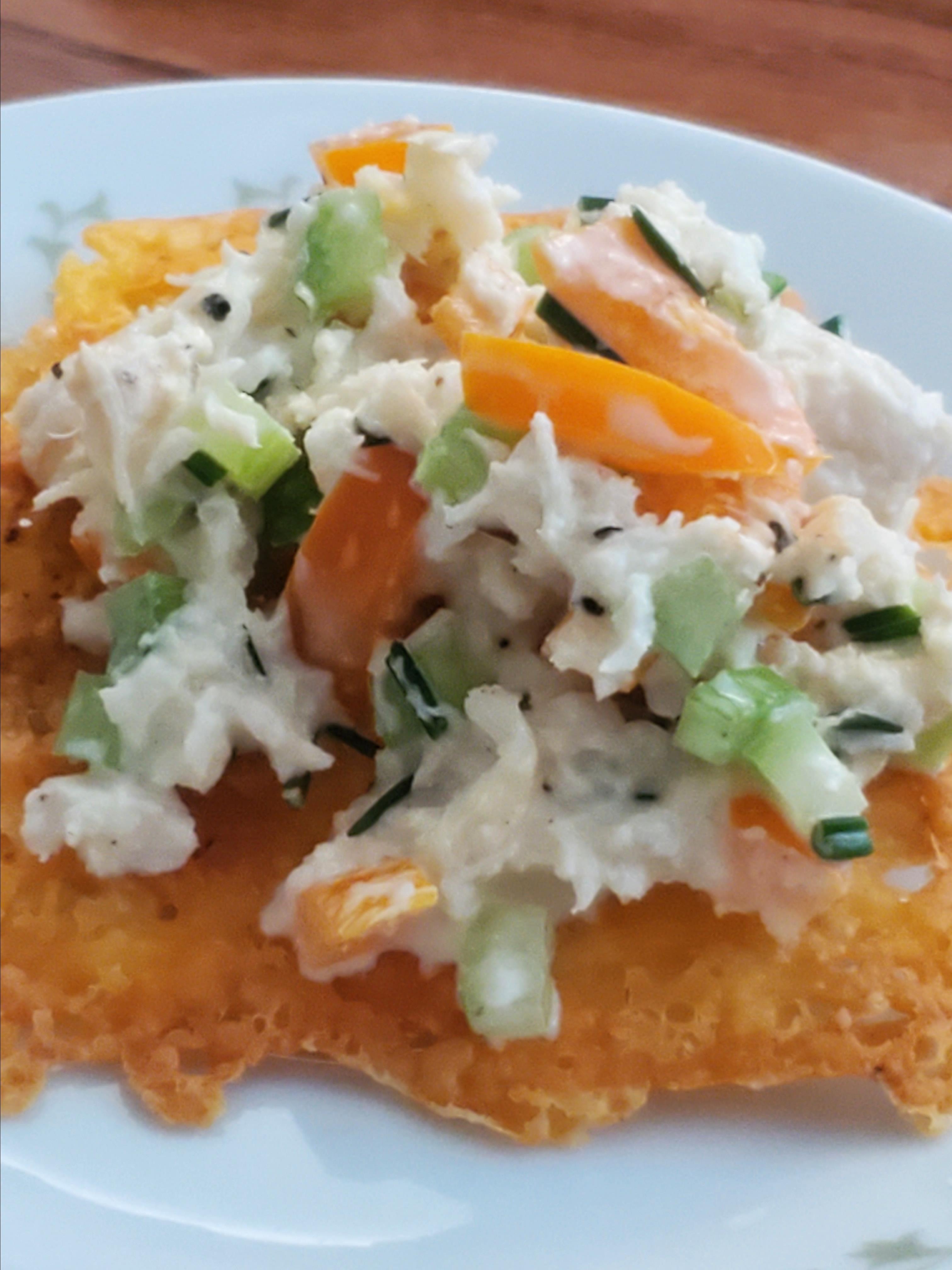 Keto Mock Crab Salad