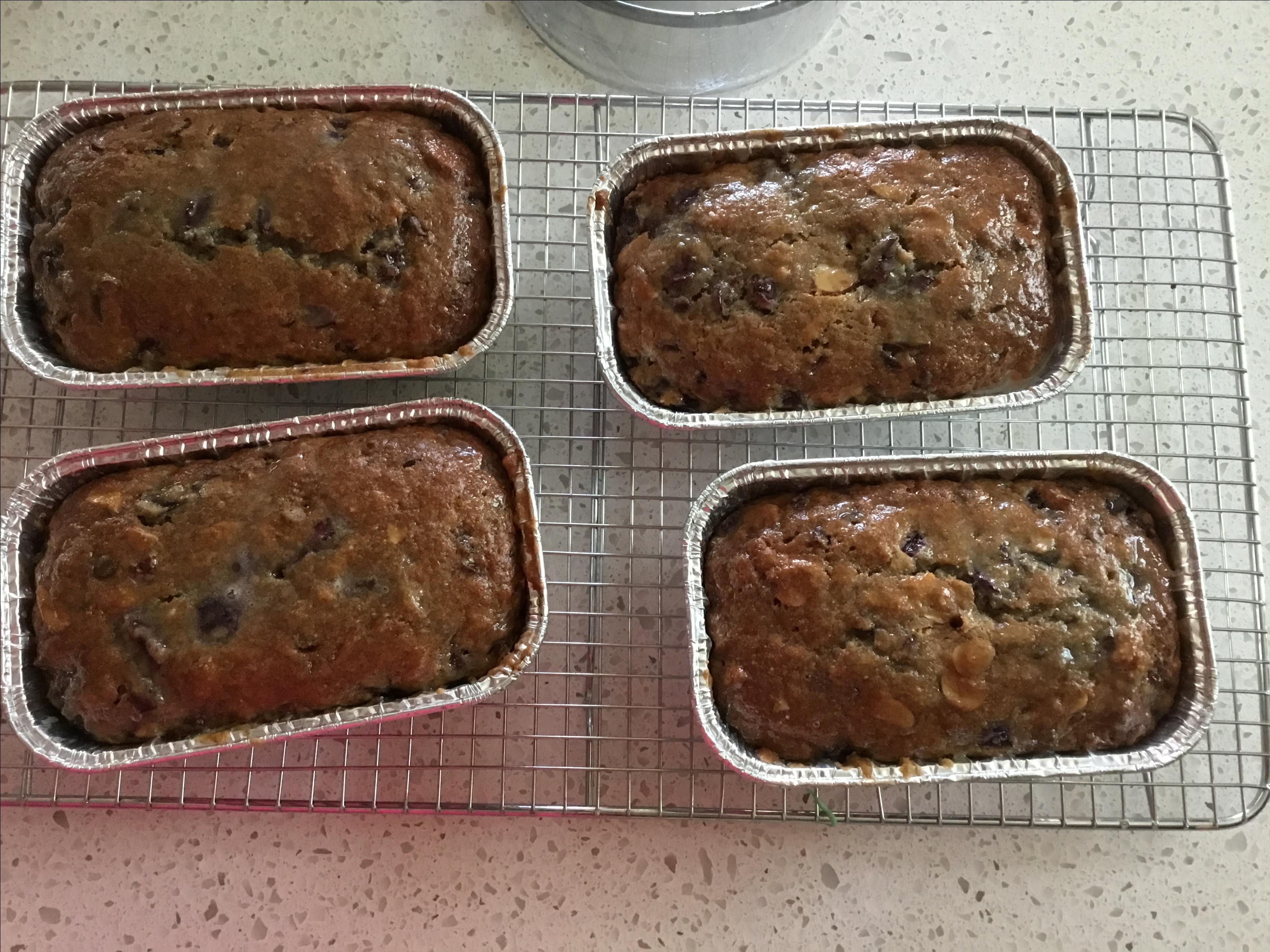 Cherry-Chocolate Loaf patty