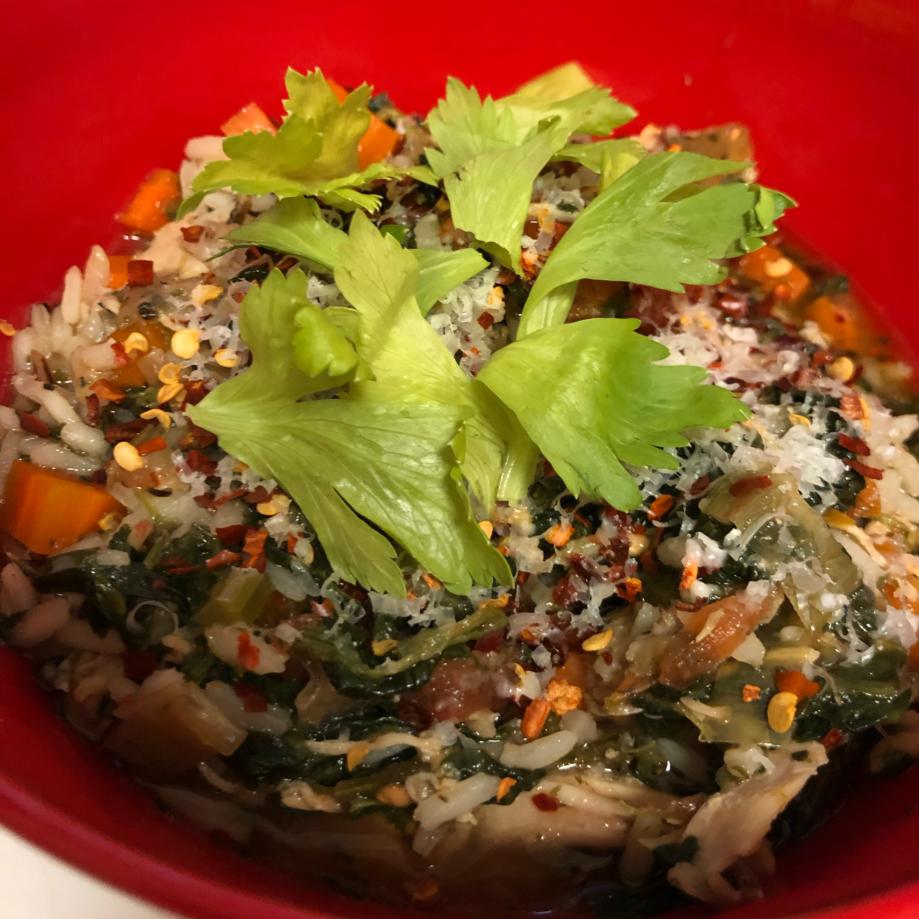 Becky's Gluten-Free Slow Cooker Chicken Vegetable Soup Lilchamp24