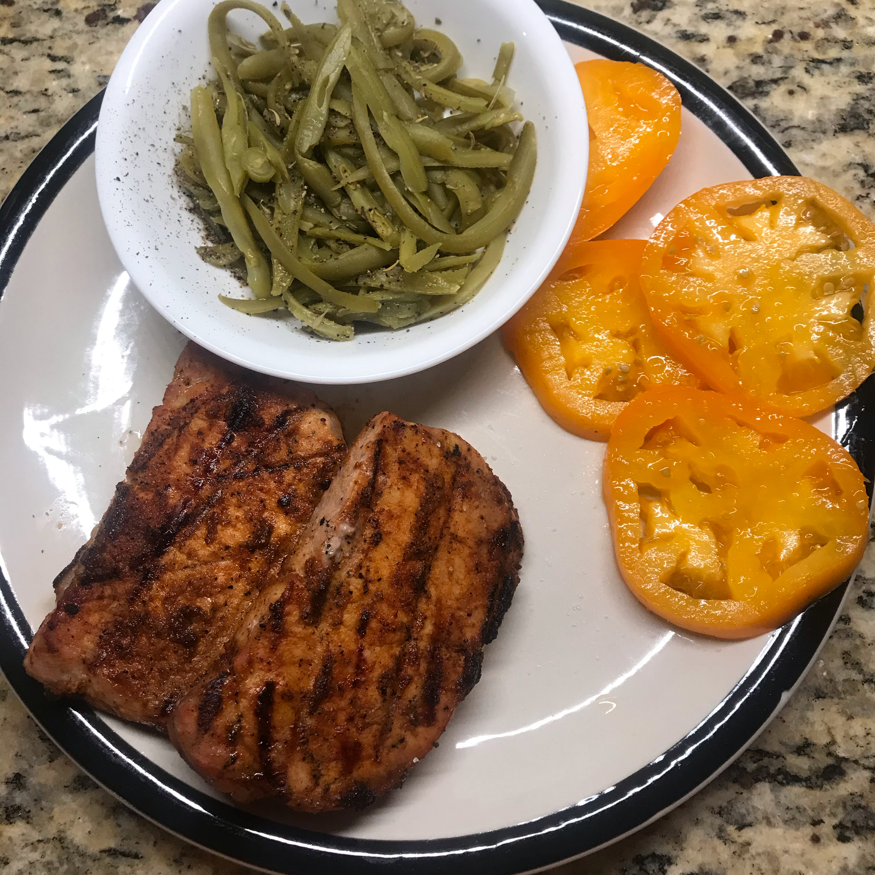 Smoky Grilled Pork Chops