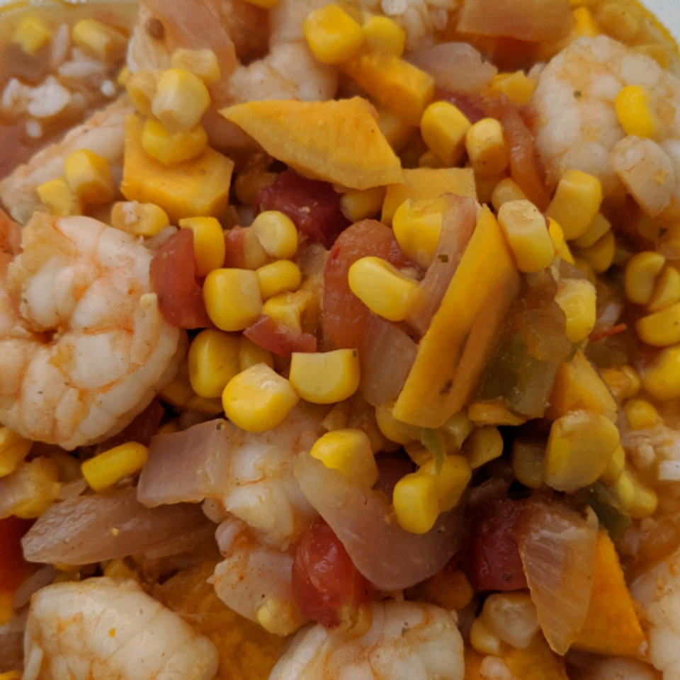 Spicy Shrimp and Sweet Potato Soup