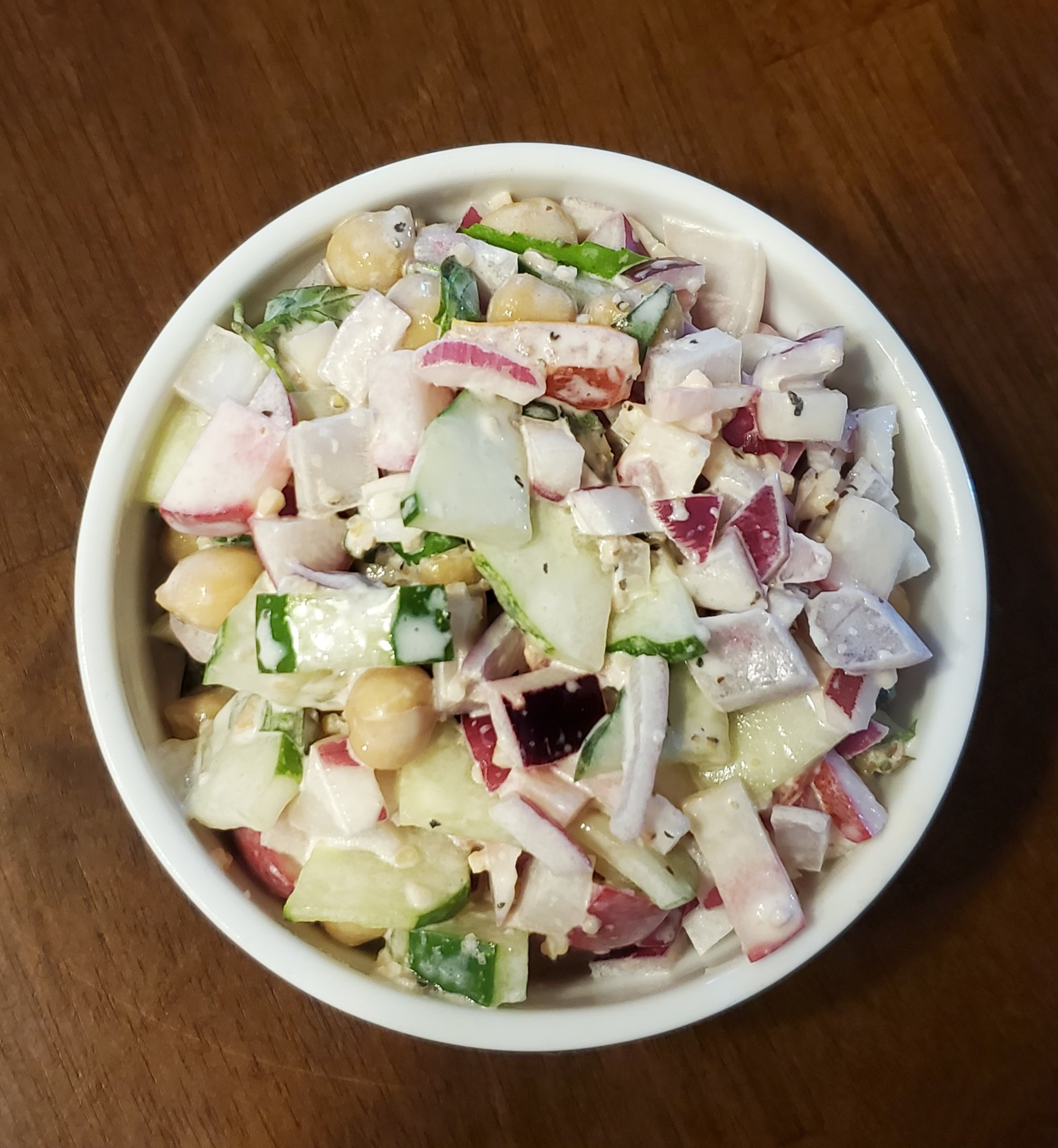 Tissy's Cucumber Salad
