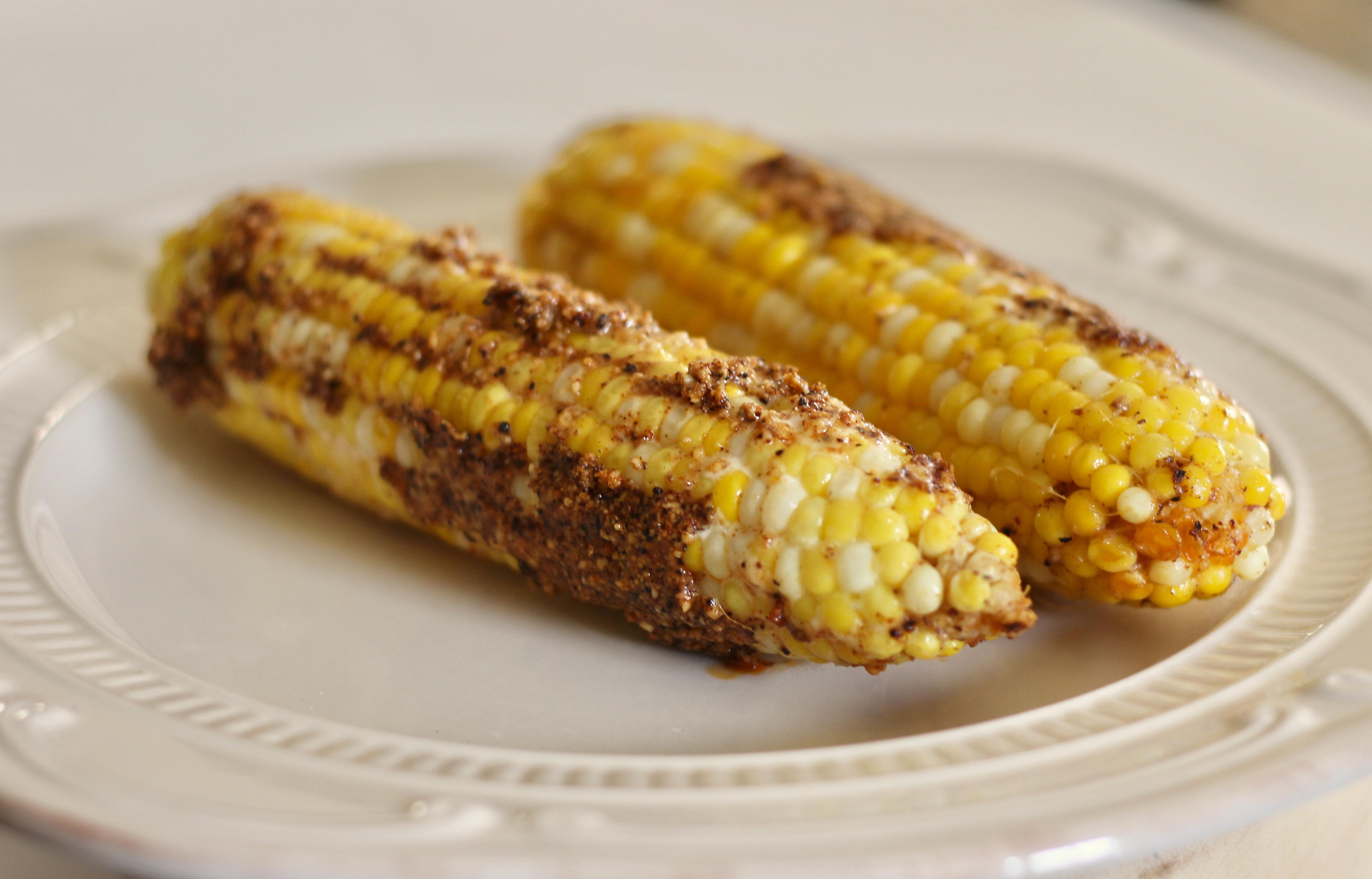 Parmesan Roasted Corn on the Cob