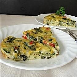 eggy veggie bake recipe