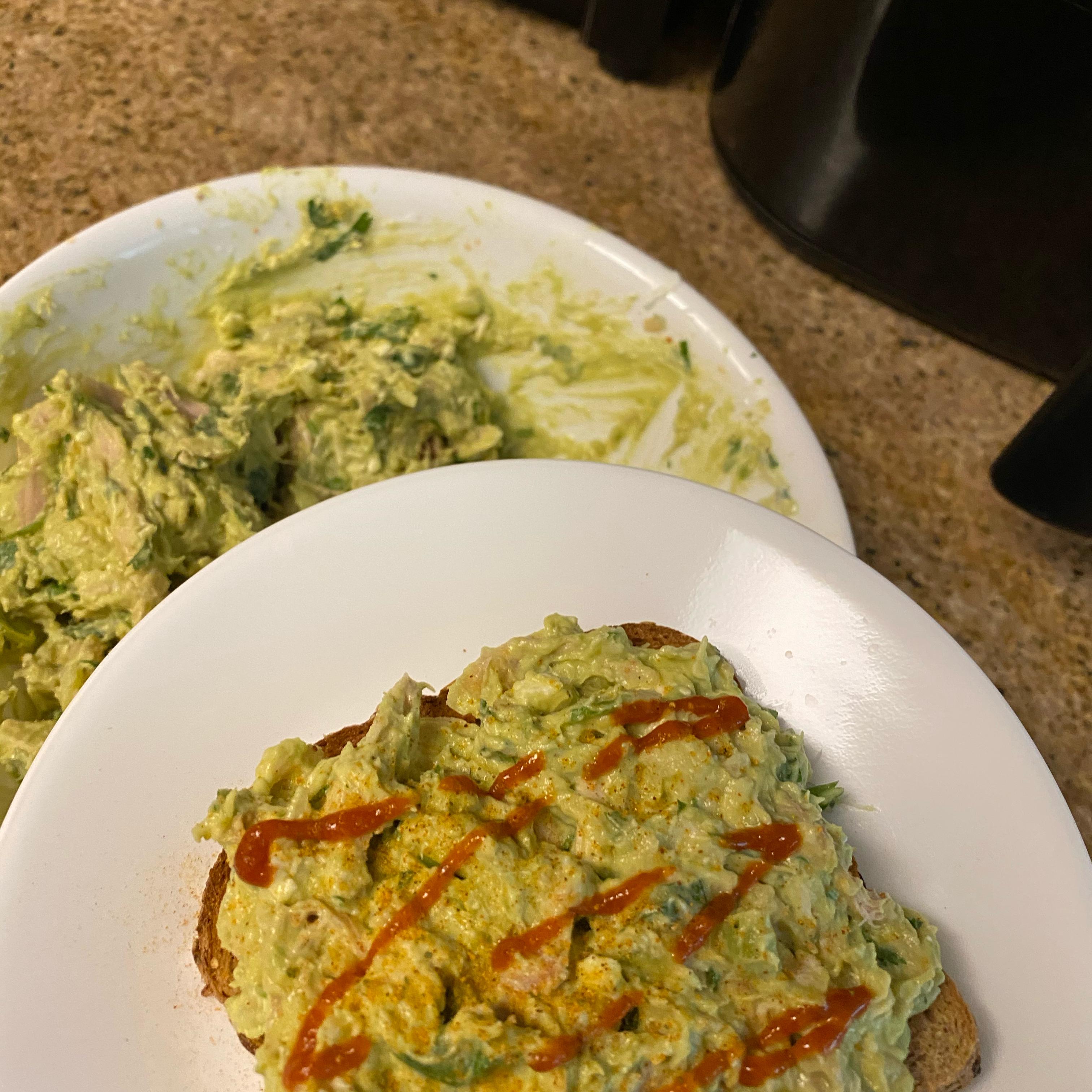 Quick Avocado Chicken Salad Catherine Nang