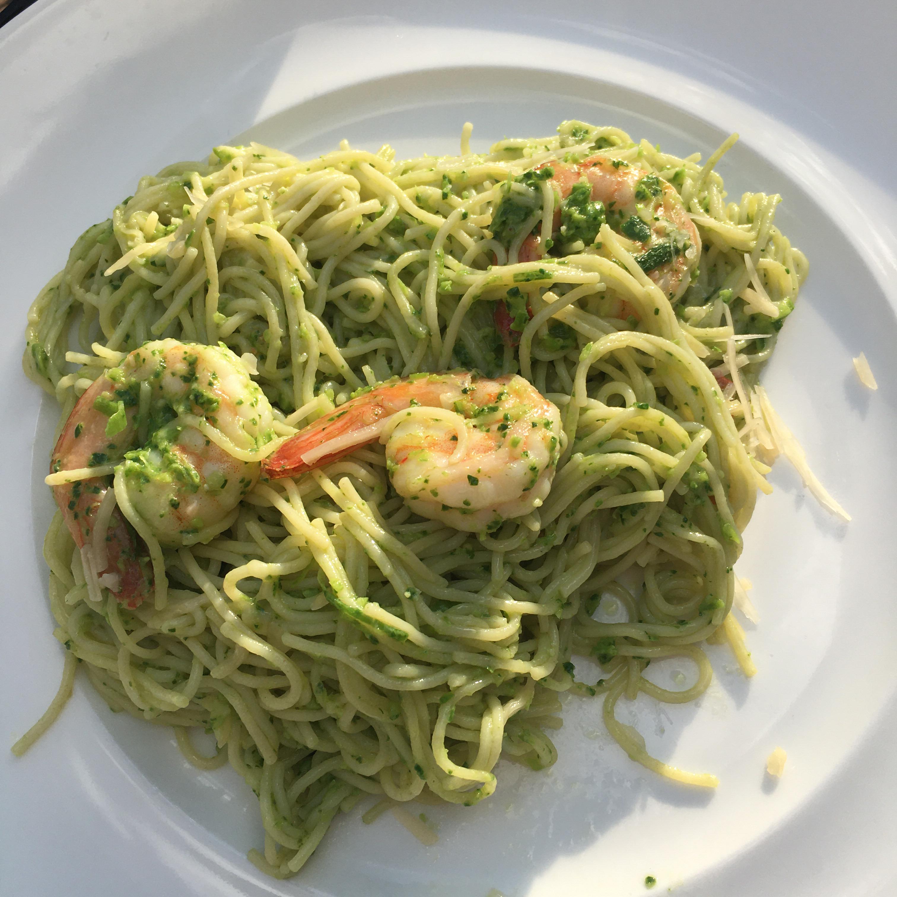 Spinach and Garlic Scape Pesto Rose Althoff