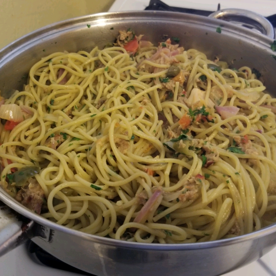 Spaghetti with Tuna and Capers Arlande Julien