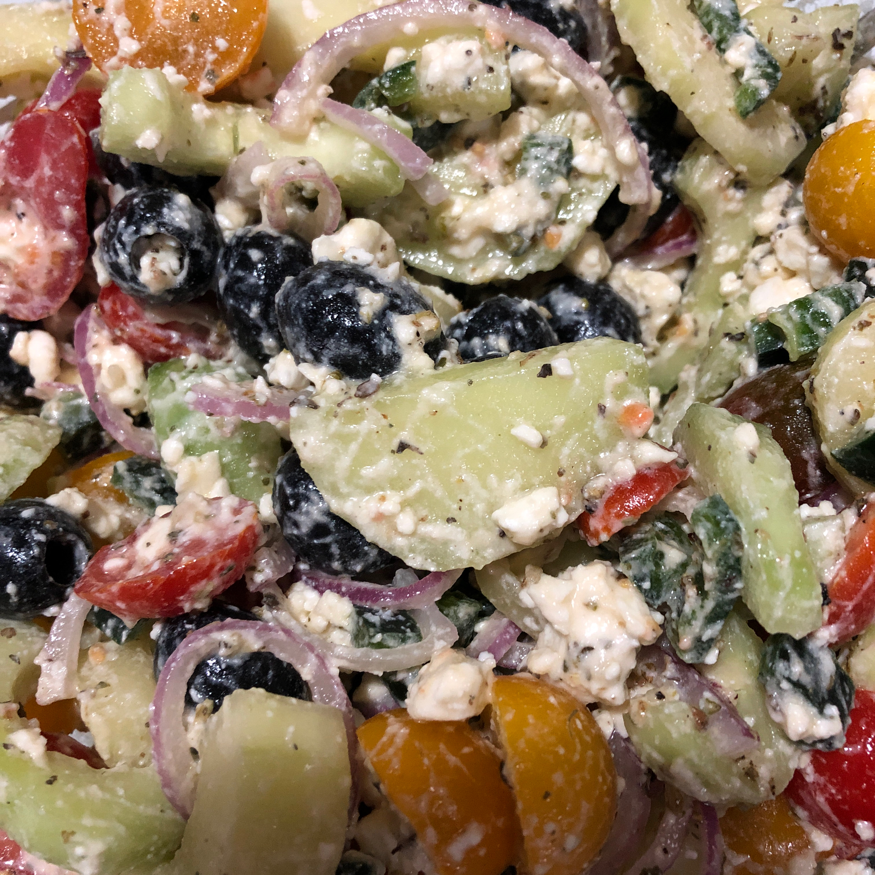 Good for You Greek Salad wingsfailmenot