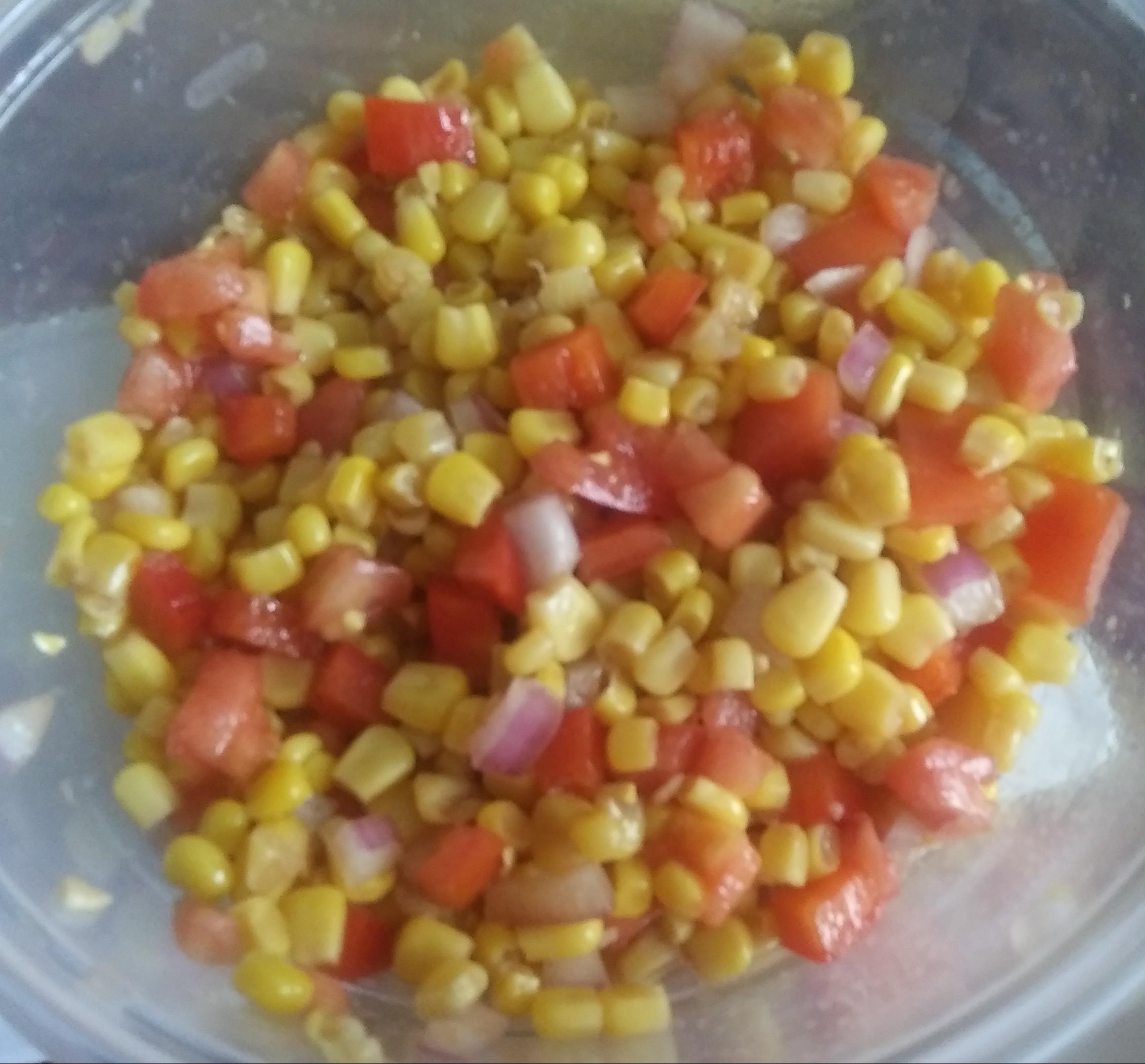 Corn Tomato Salad Linda