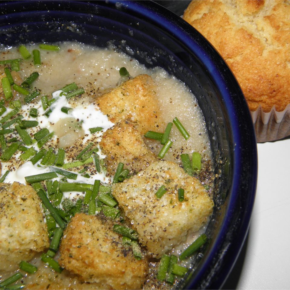 Amy Rose's Roasted Cauliflower Soup