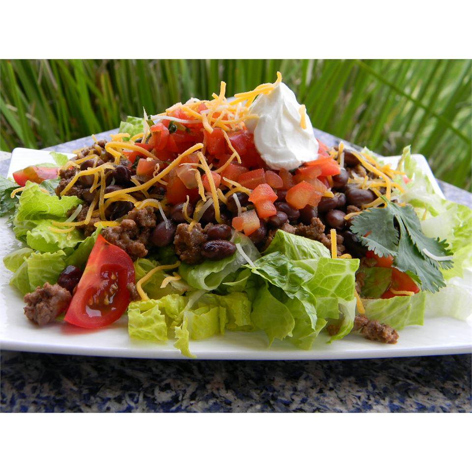Easy Black Bean Taco Salad Baking Nana