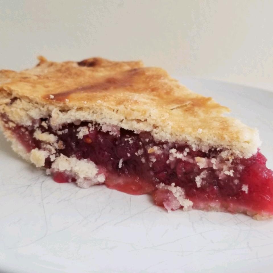 Saskatoon (Serviceberry) Rhubarb Pie Richard Carson