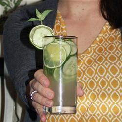 Mint-Cucumber Mojitos Jennifer Baker