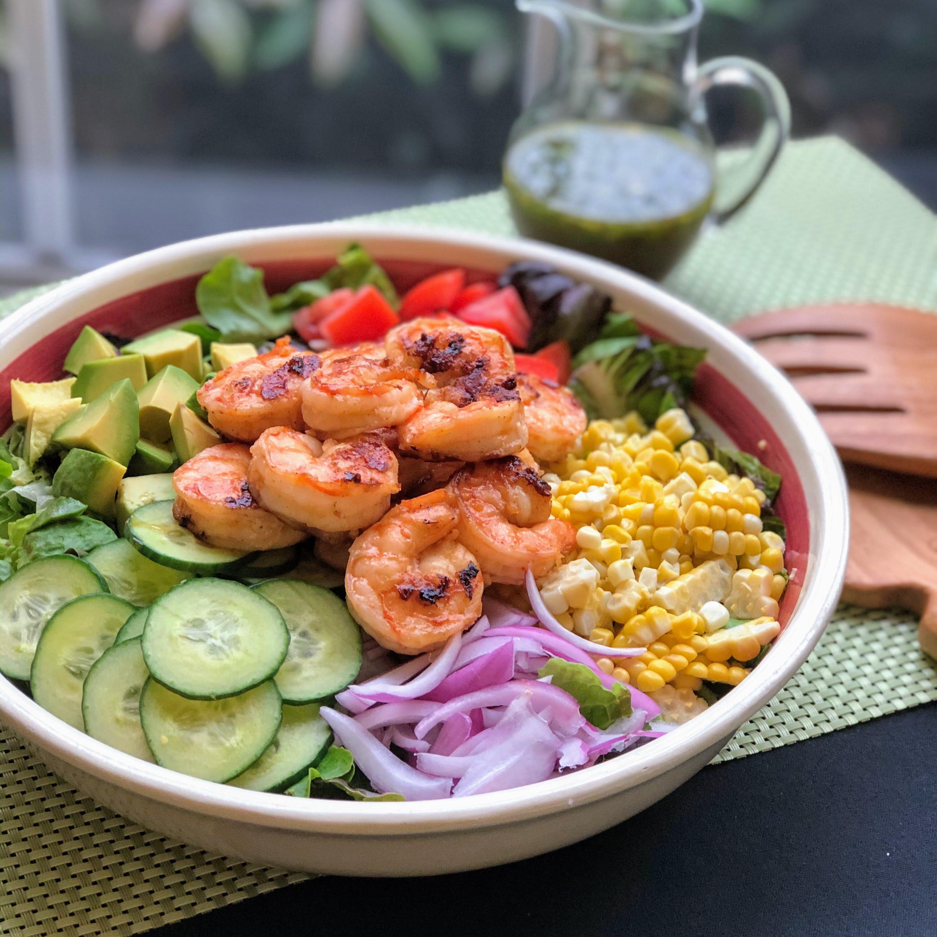 Grilled Shrimp Salad Recipe Healthy