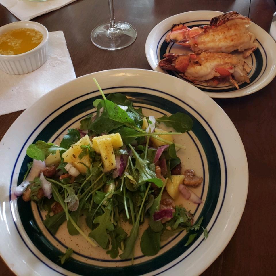 Pineapple Rocket Salad Carole Belfiglio