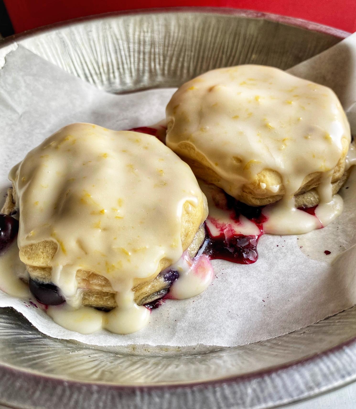 Blueberry-Lemon Breakfast Biscuits Rider