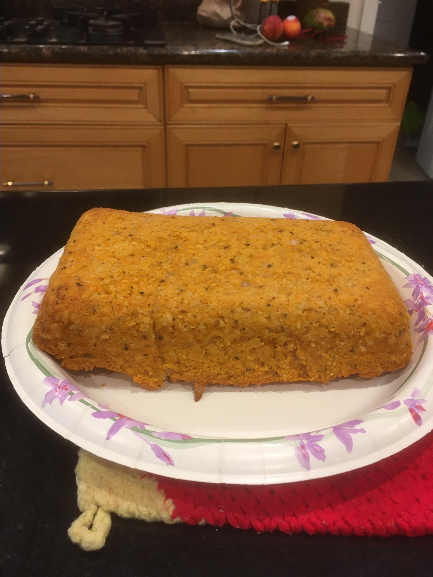 Michael's Easy Lentil Loaf
