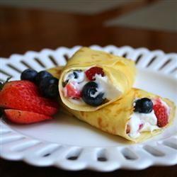 Cheesecake Crepe Roll-Ups Jennifer Baker