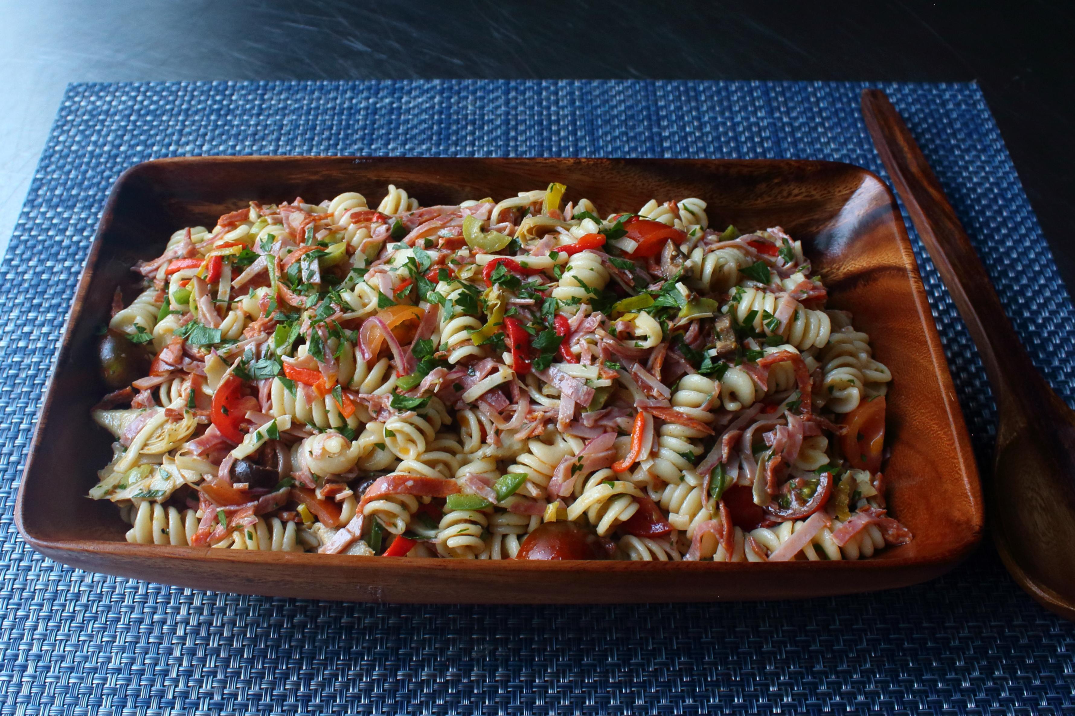 Chef John's Antipasto Pasta Salad