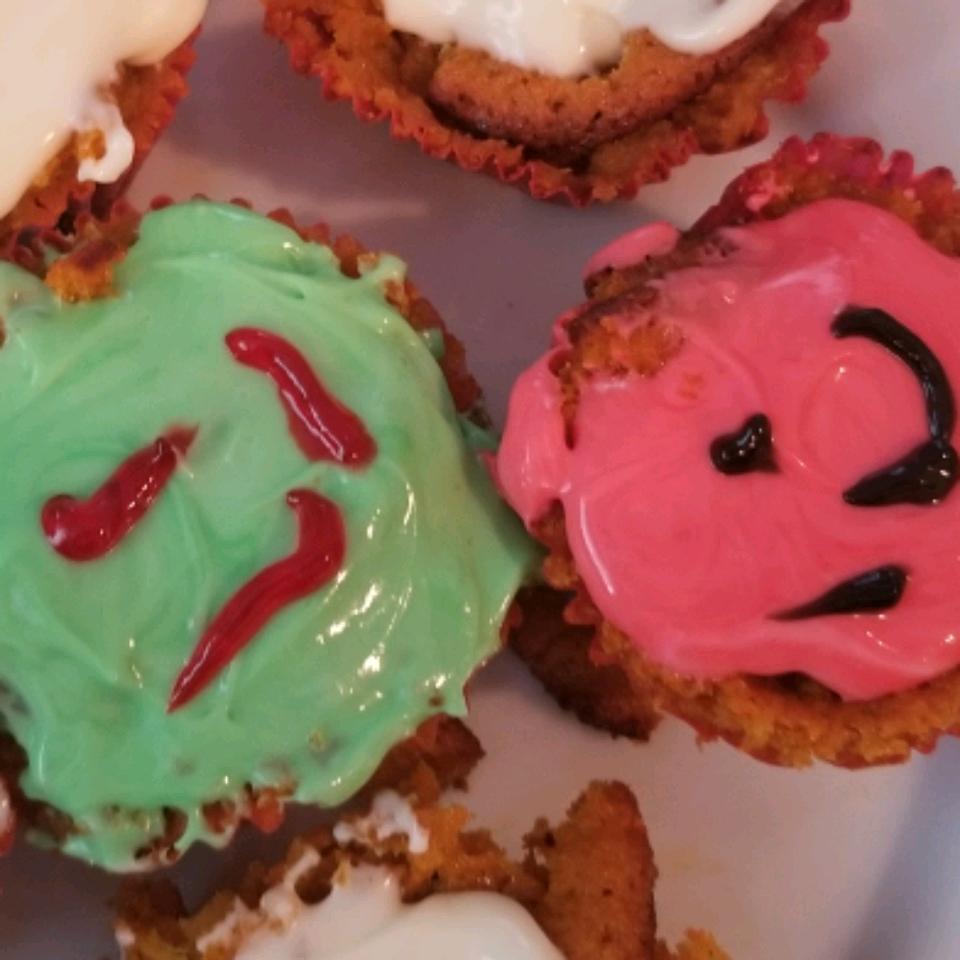 Carrot Pineapple Cupcakes