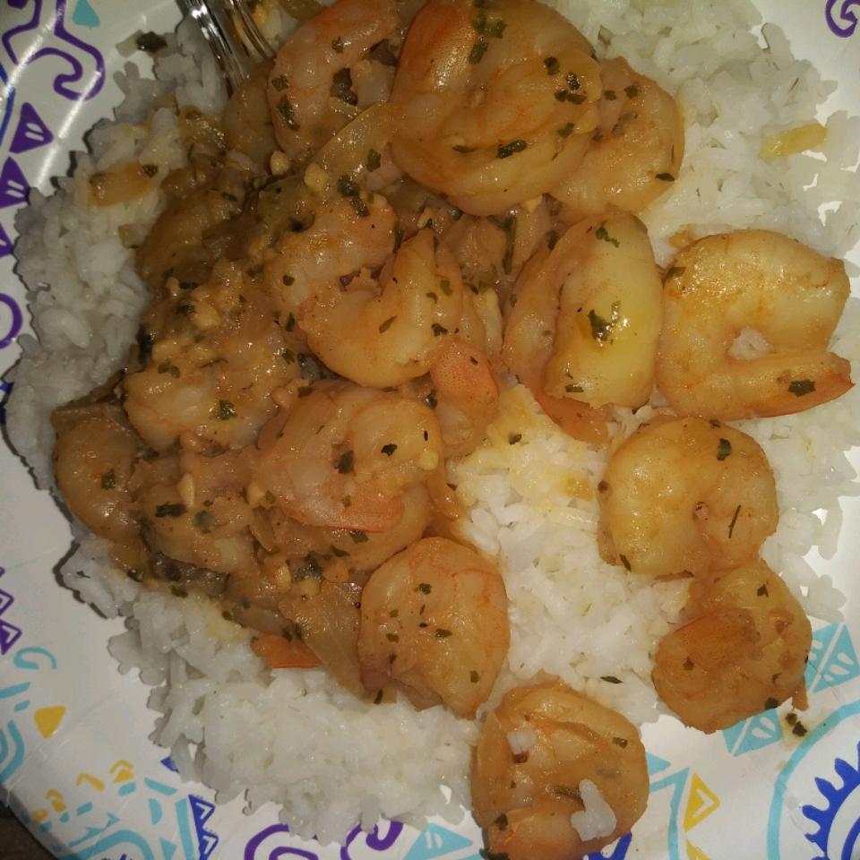 Garlic, Cilantro, and Lime Sauteed Shrimp Elizabeth Flores