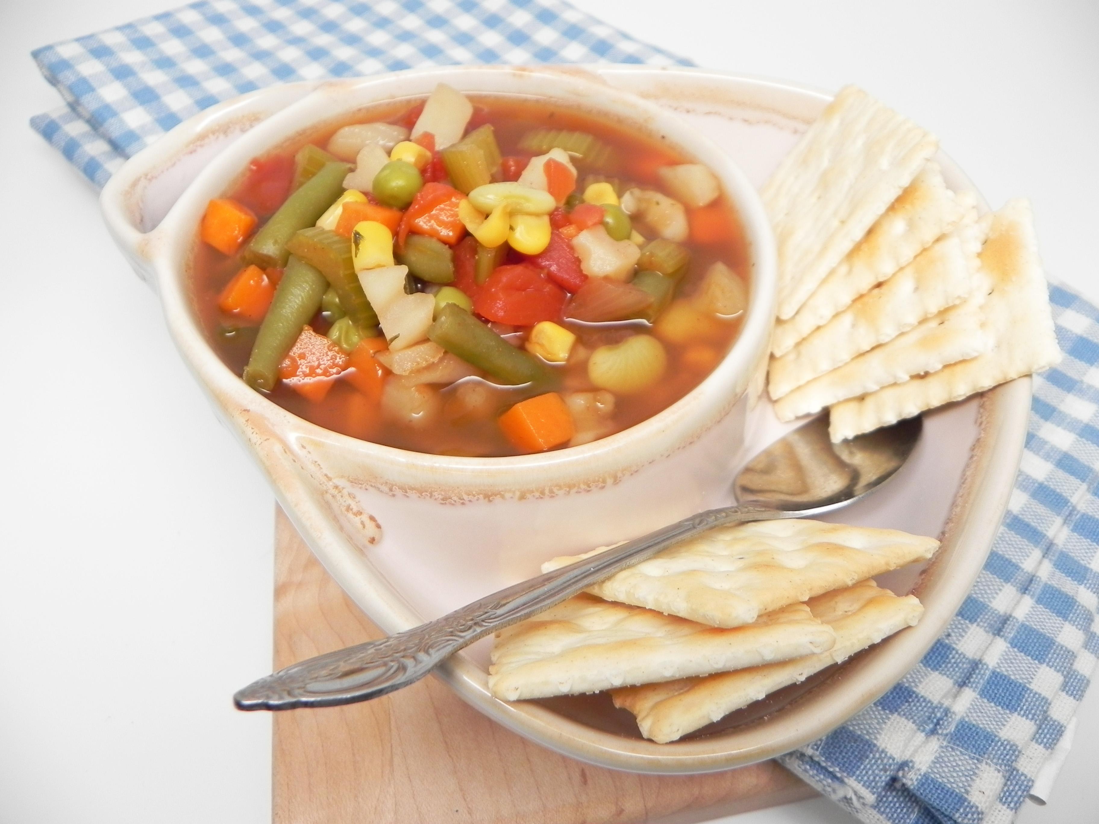 Instant Pot® Frozen Vegetable Soup