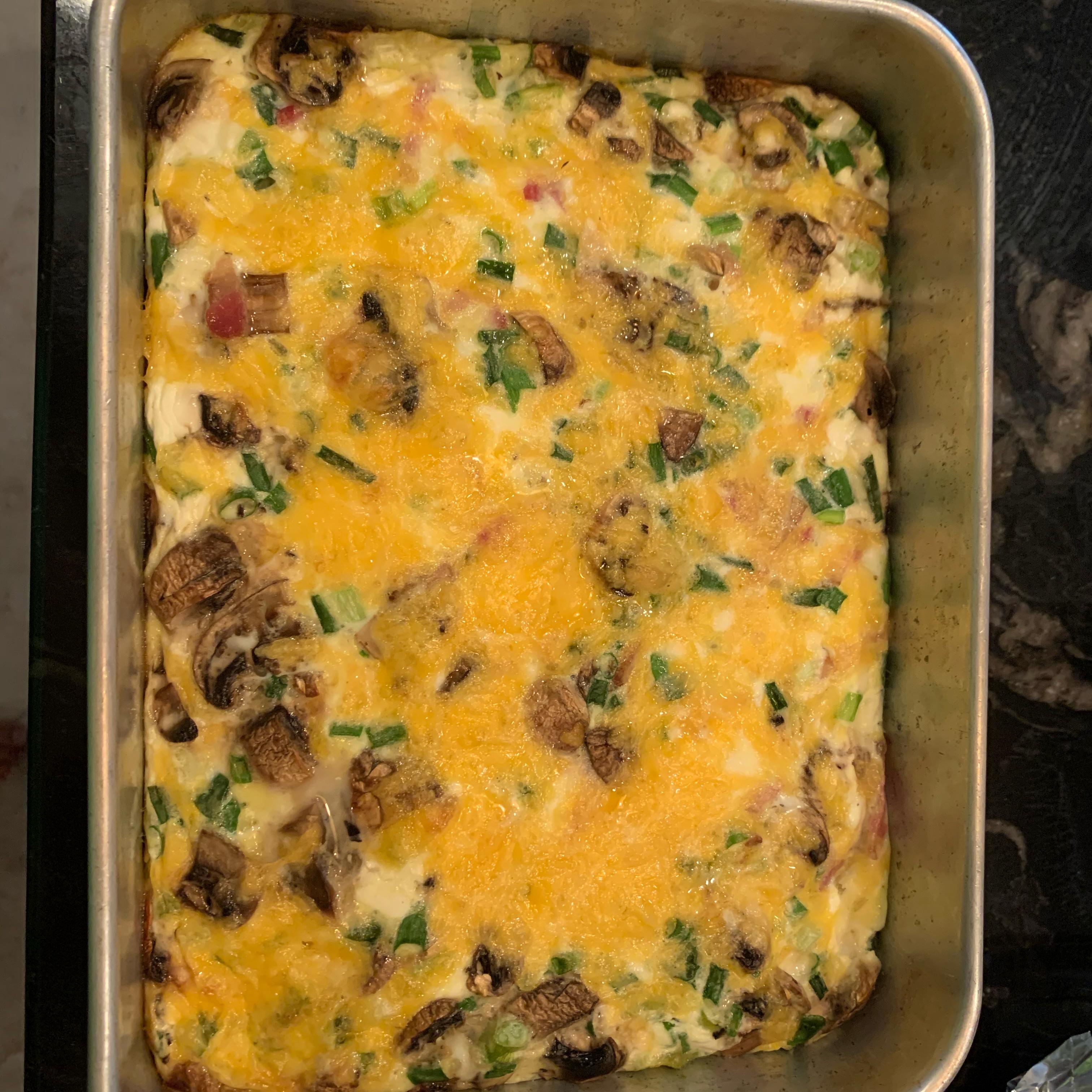 Oven Baked Omelet chrisdiss