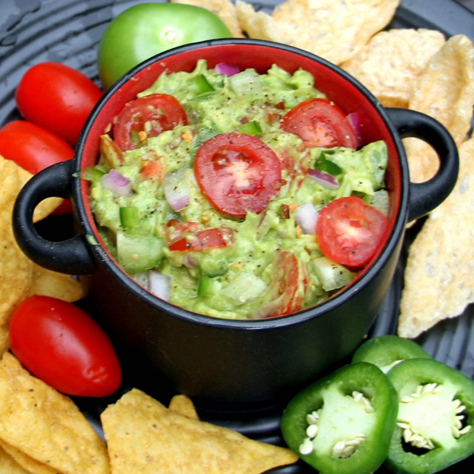 Tomatillo Guacamole