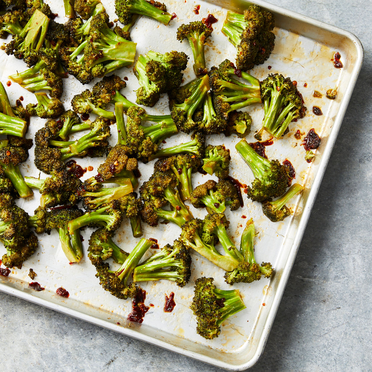 Honey and chipotle peppers coat roasted broccoli in this sweet and smoky side dish. Serve alongside grilled pork, roasted chicken or with any main dish that could use some kick.Source: EatingWell.com, July 2020