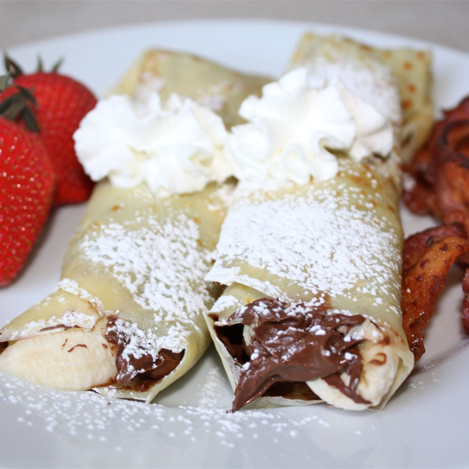 Chocolate Hazelnut Fruit Crepes Christine Laliberte