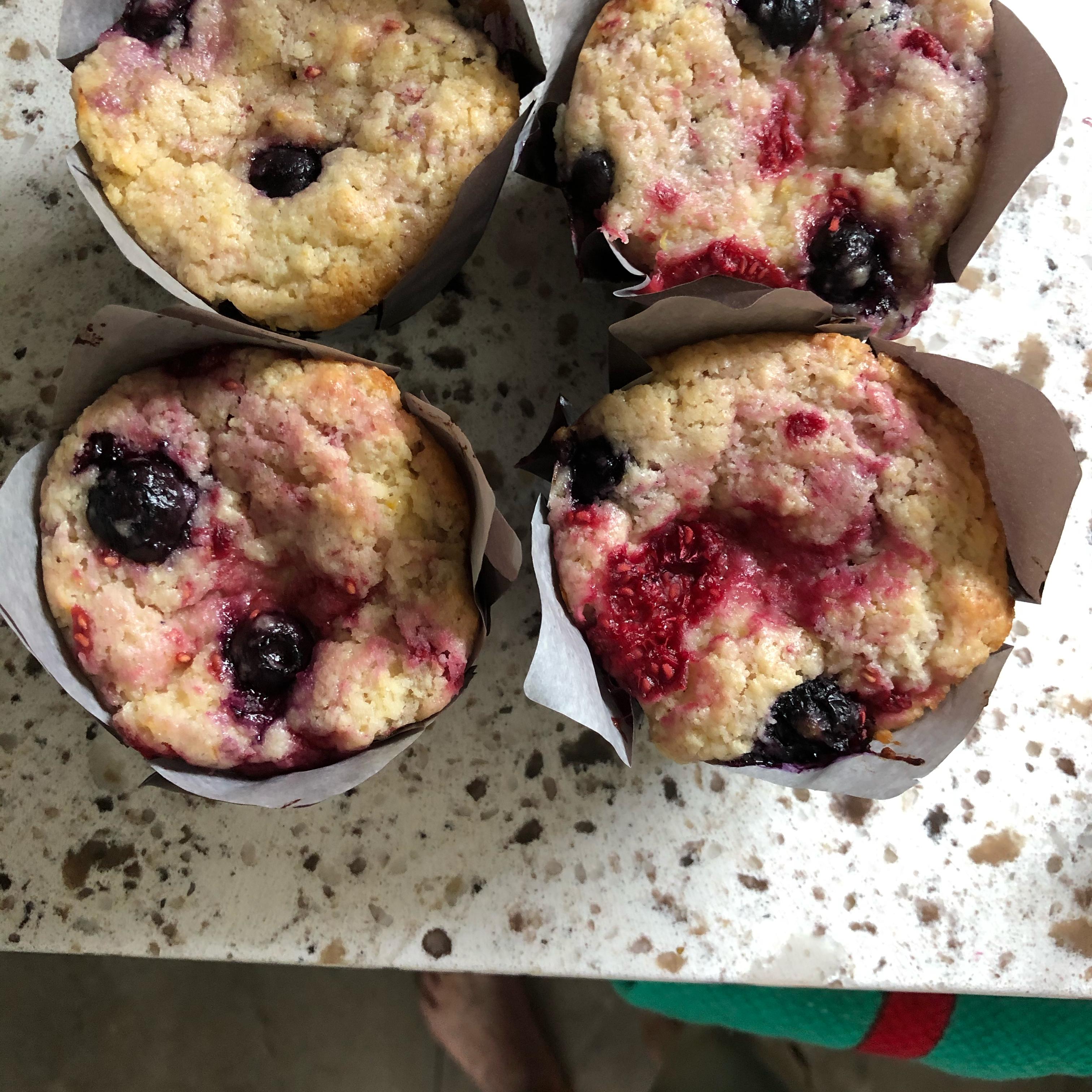 Berry Lemon Muffins Joan F