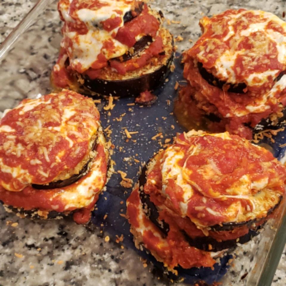 Crunchy Eggplant Parmesan