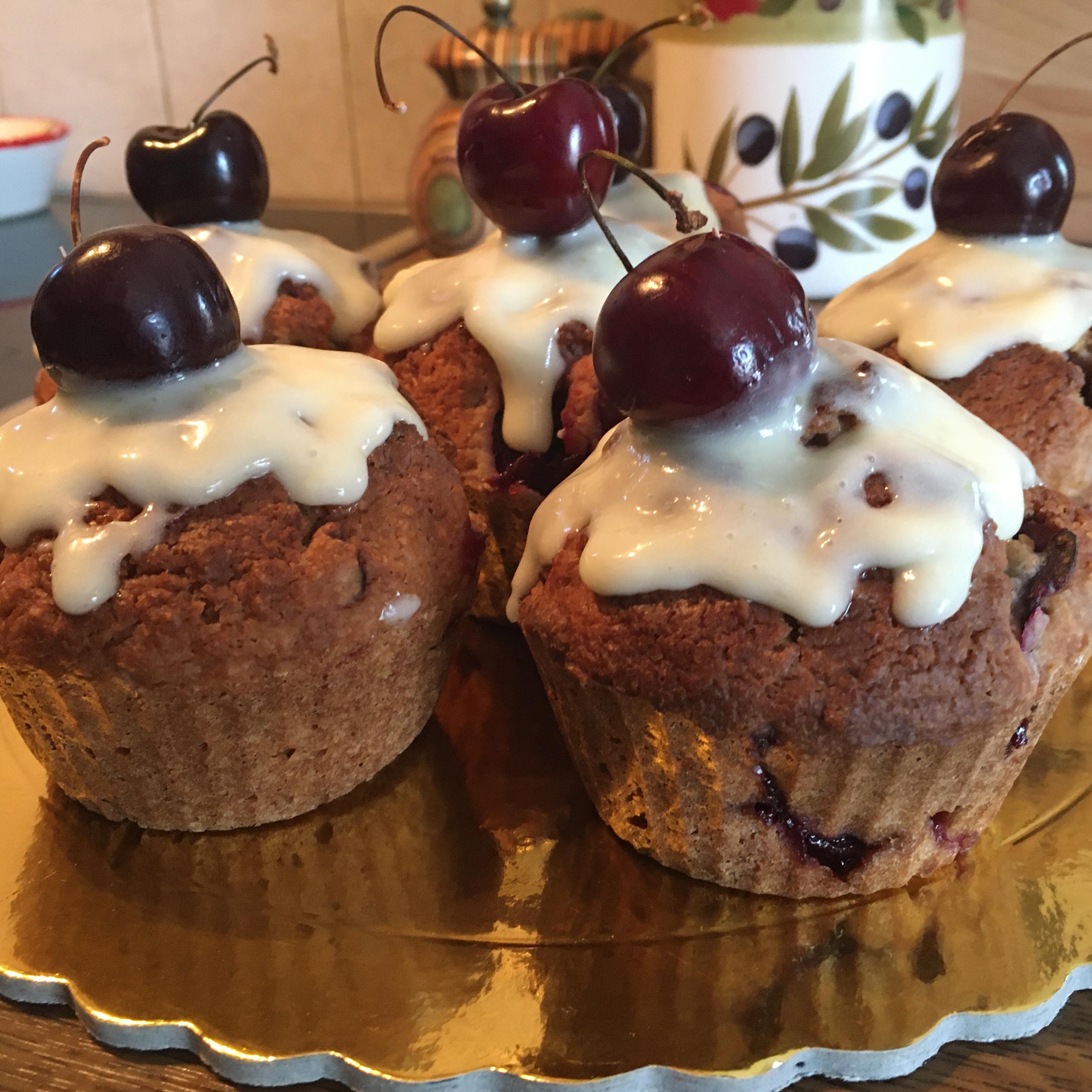 Fresh Cherry Muffins Whitney